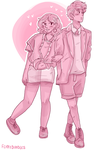 young couple by superlucky13