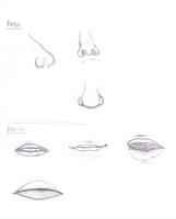 MY Nose and Mouth by tootlez