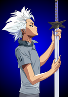 Hitsugaya: Feel my Ice Touch by Mifang