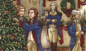 Christmas at Headquarters by TheBrassGlass