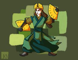 Com: Kyoshi by VeloursRose