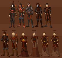 Fire Nation Military by DressUp-Avatar