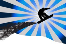 Snowboard Wallpaper by TheAmazingNoodle