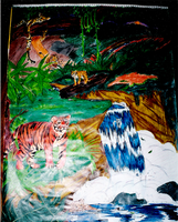 1997 Old Work- Jungle Paradise by yanagi-san