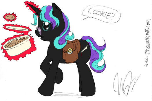 MLP: Word Perfect - Cookie? (by Monica Marier) by shinyhappygoth