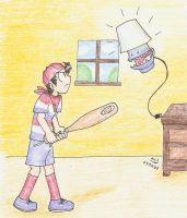 When Lamps Attack by Mister-Saturn
