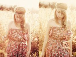 the sweet little hippie by kalinaicons