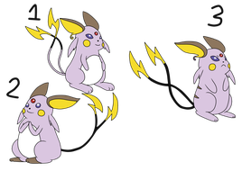 Poke-Fusion Adopts: Eschus CLOSED by sam-speed