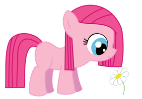 Happy Pinkamena Filly by Angelkitty17