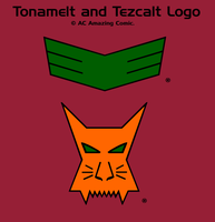 Tonamelt and Tezcalt Logos Color by alexcruz