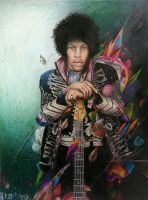 Jimi Hendrix by shadowhurts