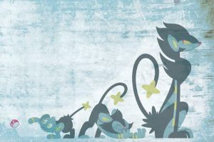 Shinx Evolutions by yooki42