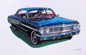 Ford Galaxie commission by cardman