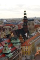 City Hall. Wroclaw, PL by Meernebel