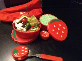 St. Patrick's day bento! by Mittsu-chan