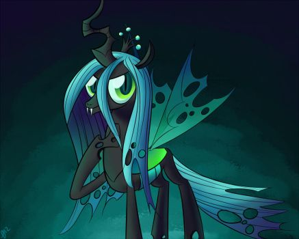Queen Chrysalis by ParadigmPizza