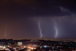Pinetown Storm by carlosthe