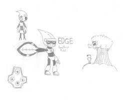 Edge Pencil by Chitofuru