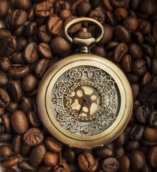 coffee beans and time lapse by xChristina27x
