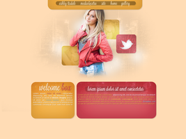 Ashley Tisdale layout by hellomia