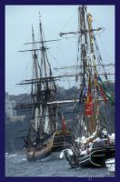 Tall ships by sandyprints