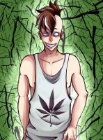 Kind of Marihuana Fudou. by AcidMohawk