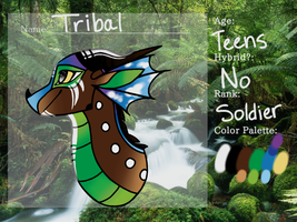 Tribal Ref Sheet by InkyRainClouds