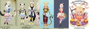 //Laughs-- Progression of Yoryyntel art by Nekyua