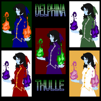 Many Colors of Delphina Thulle by CosmoGurl713