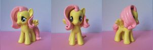 Molded Fluttershy Version 2 by Amandkyo-Su