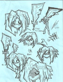 Kori Sketch Dump by SlickComicFlo