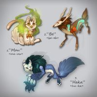 Creature Design Auction by Flying-Fox