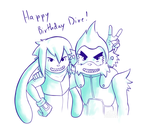 Clanz birthday by TatzelFreeman