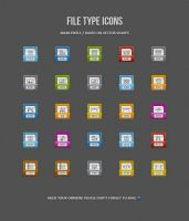 File Type Icons by AnnaLitvinuk