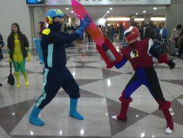 NYCC 2012 - Battle Network Cosplay Pt. 2 by DestinyDecade