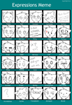 Expressions Meme. by FoxLover12