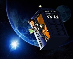 Doctor In the Tardis in Space by CPD-91