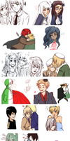 ISCRIBBLE EVERYWHERE [Sketchdump] by Totalutterchaos2