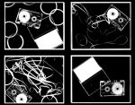 TAPES- photograms by Tallis