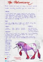 The Petunicorn - breed - by saphiraly