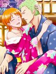 Commission: Zoro/Nami (One Piece) by CT05