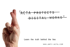 Anti ACTA wallpaper 3 by IFM-Store