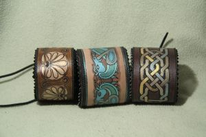 leather bracelets by lohmata