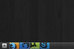 HD Taskbar Mockup by nullf