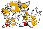 Classic + Modern Tails by ZeroR102