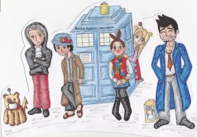Ace Attorney Doctor Who by KatieeBella