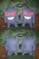Life Sized Gengars by PlushBuddies