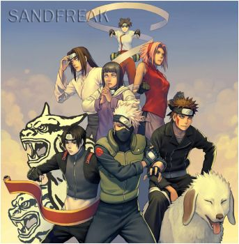Naruto People by Sandfreak