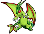 Chartreuse Flygon by raizy
