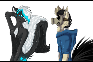 How to meet a Skunk!? by Sorasongz